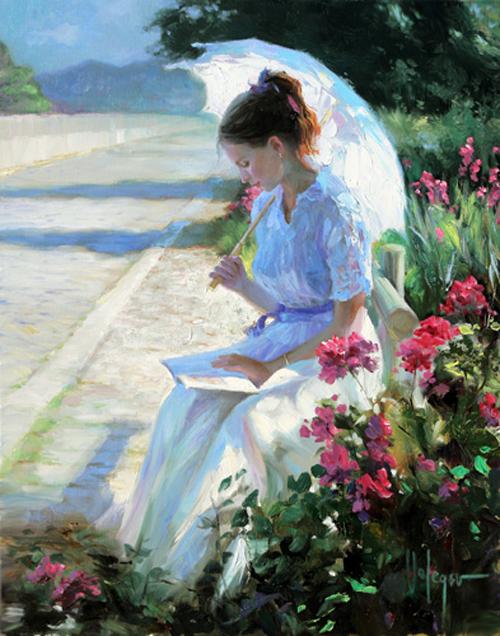 نقاشی زن